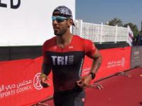 محمد شماخ أول يمني يتحصل على لقب ايرن مان الرجل الحديدي