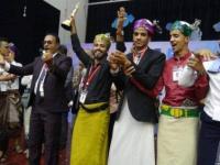 """محافظة تعز تتوج بجائزة أفضل عمل مسرحي عن مسرحية """" ميس """""""