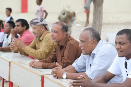 بحضور راعي رياضة أبين .. حسان يتوج بكأس بطولة تصفيات كرة الطائرة لأندية المحافظة