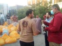الكاف وهيثم يدشنان مكرمة الرئيس القائد عيدروس الزُبيدي الرمضانية