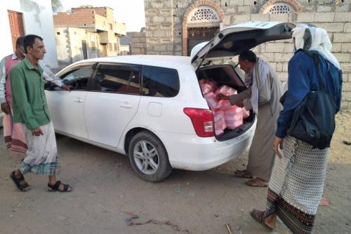 """المبادرة المجتمعية """" افطار الصائم """" تستهدف مساجد عبر عثمان في خنفر"""