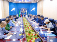 The Presidency of Southern Transitional Council discusses procedures for implementing the state of emergency