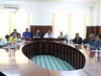 Al-Kaf and Haitham chair joint meeting of local authority and Transitional Council local leadership of Aden the capital to implement state of emergency