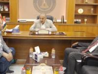 President Al-Zubaidi meets Sheikhs Abdul Khaleq bin Hattabin and Salah Ali Al-Nahdi
