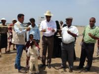 جمعية أبي موسى الأشعري تفتتح مشروع بيوت رحمة للمتضررين من السيول مديرية الخوخة