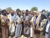 """وصول العرادة ووفد من قبائل مأرب إلى صنعاء لتوقيع """"اتفاق صلح"""" مع حكومة الانقاذ الحوثية"""