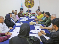 الأمانة العامة للمجلس الانتقالي تعقد اجتماعها الدوري برئاسة الجعدي
